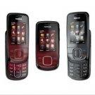 Unlocked Nokia 3600 Slide Cell Phone---gray,red