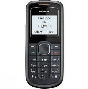 Nokia unlocked 1202 Cheap Cell Phone--black,blue
