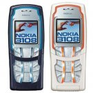 Unlocked Nokia 3108 Tri-band Cell Phone---white,gray,blue