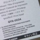 Original New Canon QY6-0034 PRINTHEAD