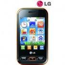 Unlocked LG T320 WiFi Wink 3G Cell Phone----Black,Orange