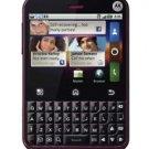 Unlocked Motorola CHARM MB502 Cabernet EXTRAS cell phone