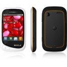 Motorola Unlocked EX232 Touch Cell Phone ----White
