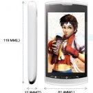 "ZTE V881 3.8"" 1.4GHz CPU 5MP WiFi GPS 3G WCDMA Smartphone----White"