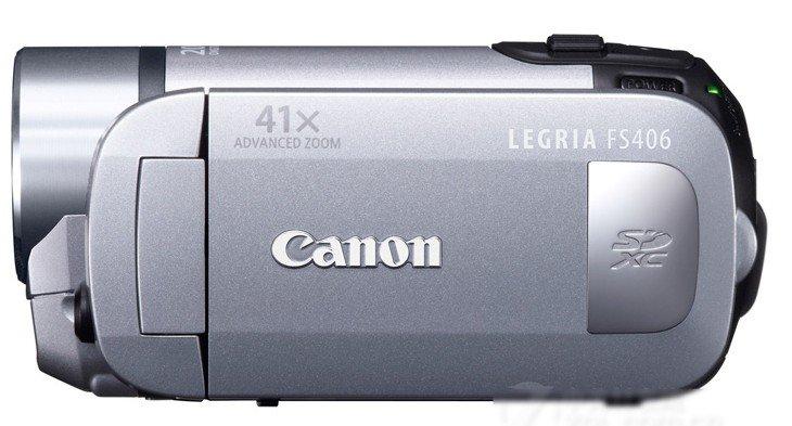 Canon FS406 digital camera Camcorder 12 million pixels ----Silver,Blue