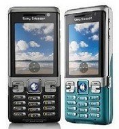 SONY ERICSSON C702 unlocked Mobile PHONE-----Blue,Gray