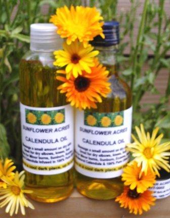 Calendula Oil & Wrinkle Hydrator, Dry Skin, Skin Conditions, 4 Oz.