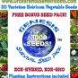 Survival Seed Pack*Heirloom*Non GMO*Over 3,000 Seeds! PLUS FREE Bonus!