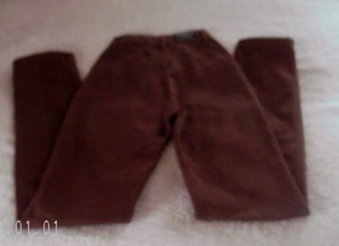 Rocky Mt Jeans 26/3X36 Brown Womens Straight Leg*Unique Cowgirl Style*Very Nice