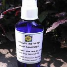 Natural Hand Sanitizer Thieves Inspired 2 Oz. PurseSize Spray Cobalt Blue Bottle