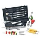 Chefmaster™ 19pc All Stainless Barbeque Set