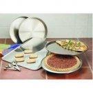 Maxam® 9pc Stainless Steel Bakeware Set