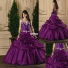 Sweetheart  Neck-line  Ball Prom Gown