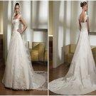 A-line  lace  Bridal  gown