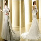 Stunning  Lace  design Bridal  gown