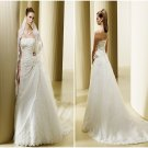 New Arrival  Embroidered  wedding  dress