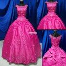 Off-shoulder  Embroidered  Prom dress