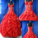 UnIque  Halter  Prom  Gown