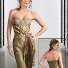 Fabulous Brooch Studded  Party dress