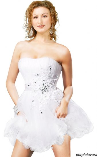 Angelic knee Length  Party dress