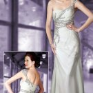 stunning  one-shoulder  evening  dress /evening  gown