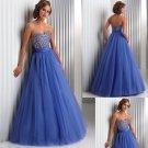 Beaded  Sweatheart  strapless  prom dress