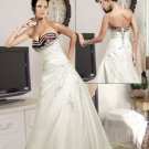 Charismatic Sweetheart Neckline Bridal Gown