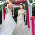 Elegantly Embellished Bridal Gown