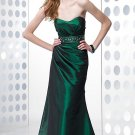 High waistline strapless sweatheart  evning dress