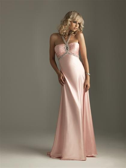 2011  Night  Movies  Ruching  beaded  evening  dress