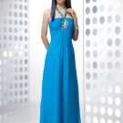 Hoteselling  2011  Blue  beaded  evening dress