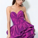 Purplle  Sweatheart  strapless  cocktail  dress