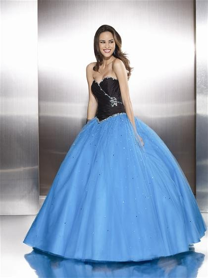 Newest   sweatheart  Beaded  A-line  prom dress