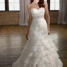 falbala   Sweatheart  beaded  A-line wedding dress