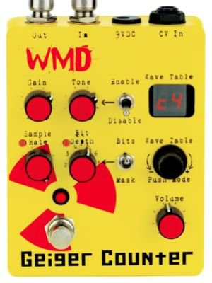 WMD Devices Geiger Counter Digital Destruction Pedal FREE WORLDWIDE SHIPPING!