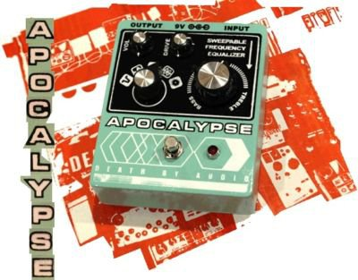 Death By Audio Apocalypse Fuzz Pedal FREE WORLDWIDE SHIPPING!