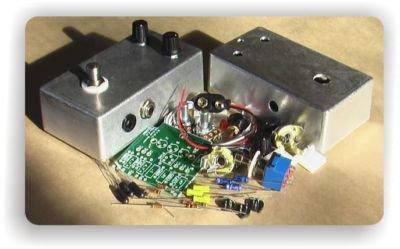 BYOC Build Your Own Clone E.S.V. Germanium Fuzz 2-Knob Bender Kit