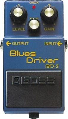 BOSS Blues Driver Overdrive Pedal FREE USA SHIPPING!