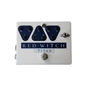 Red Witch Titan Delay Pedal FREE WORLDWIDE SHIPPING