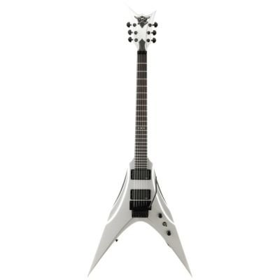DBZ Guitars Venom Guitar Silver with Case FREE USA SHIPPING
