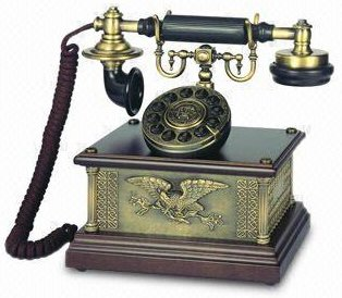 1911 NOSTALGIC ANTIQUE STYLE EAGLE PHONE