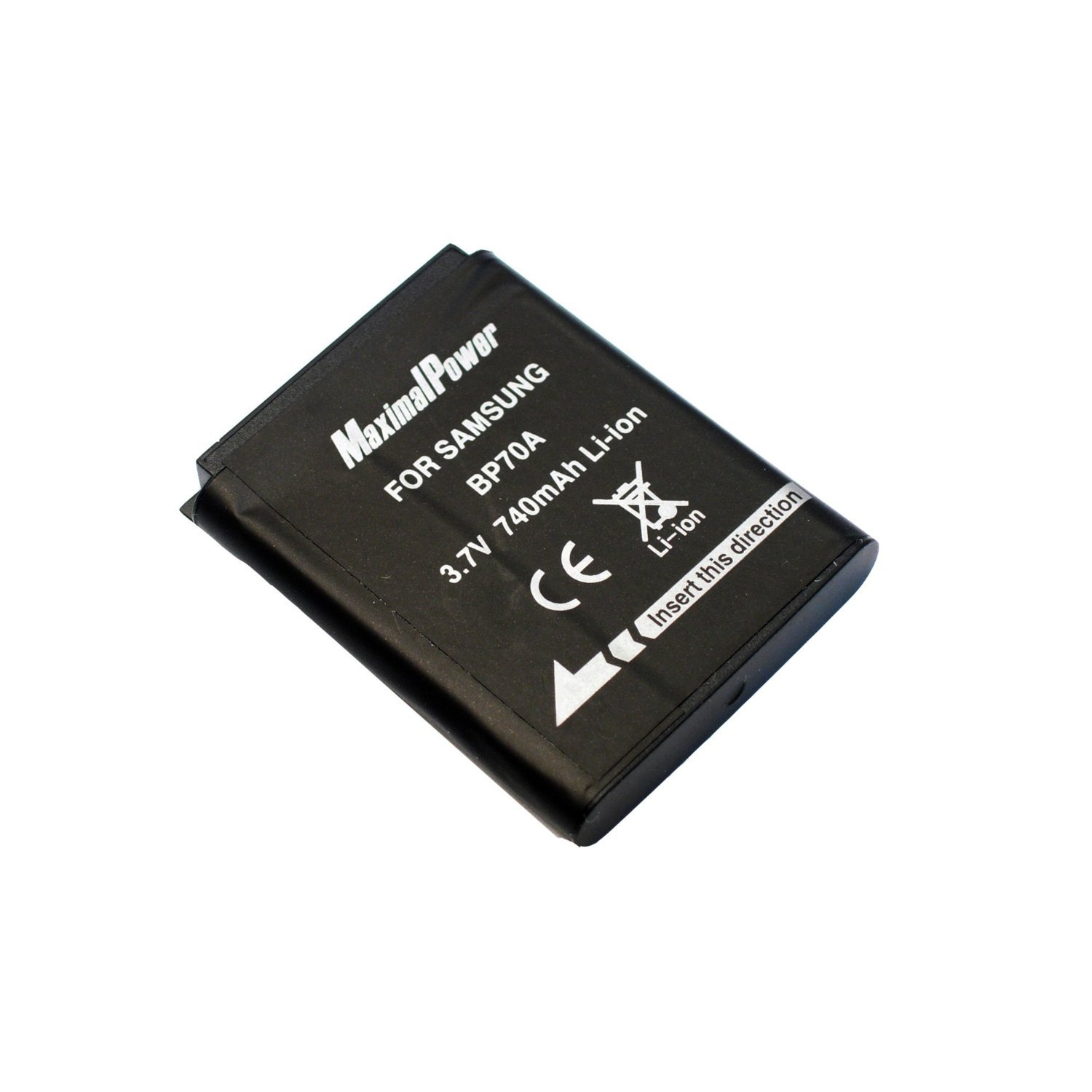 Maximal Power DB SAM BP70A Replacement Li-Ion Battery for Samsung BP70A