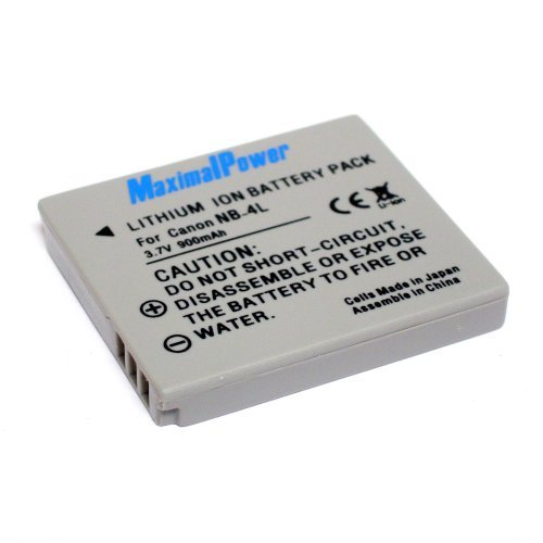 NB-4L Battery for Cannon SD1400 IS,SD 30 40 200 400 430 600 750 780 940IS 960IS 1000 1100IS