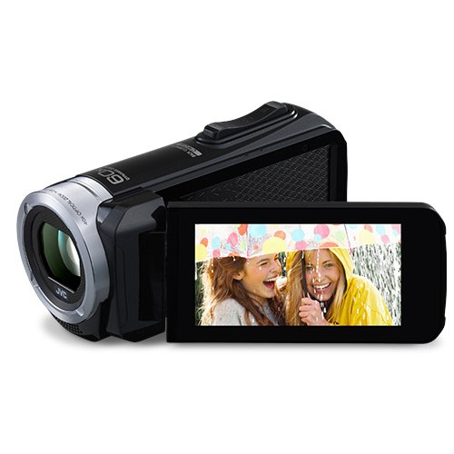 JVC Everio GZR10 Water Freeze Shock Dust Proof 60x Zoom Full HD Camcorder Touchscreen LCD (Refurb)