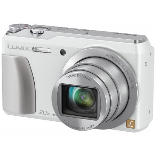 Panasonic DMC-ZS35W Digital Camera with 3.0-Inch TFT LCD White (Refurb)
