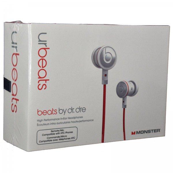 White urBeats w control Talk Mic Microphone In-Ear Earbuds Beats Headphones