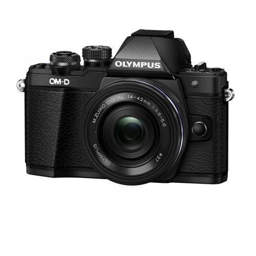 Olympus OM-D E-M10 Mark II Mirrorless Digital Camera 14-42mm EZ Lens