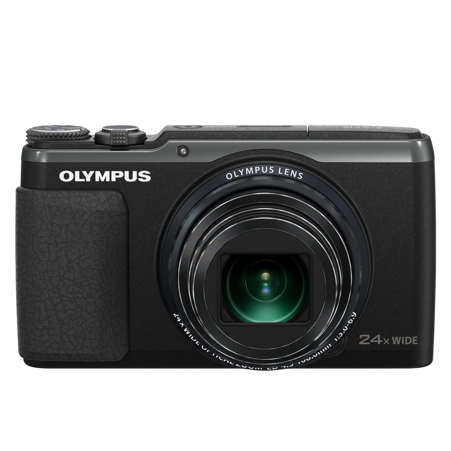 "OLYMPUS SH-60 16MP 24X Long Zoom 3"" LCD Digital Camera"
