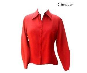 Womens 100% Silk Charmeuse Blouse - White - Size 8
