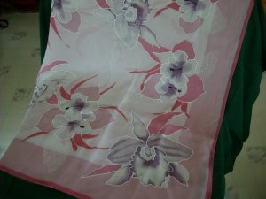 Blossom Pink Women's scarf